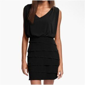 LAUNDRY By Shelli Segal LA Black Fitted Dress 4